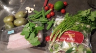 Ingredients for Thai curry fish